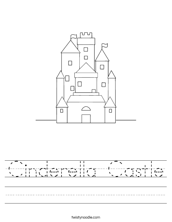 Cinderella Castle Worksheet