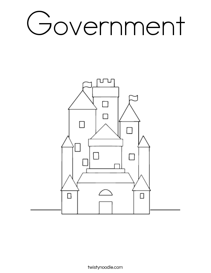 Government Coloring Page