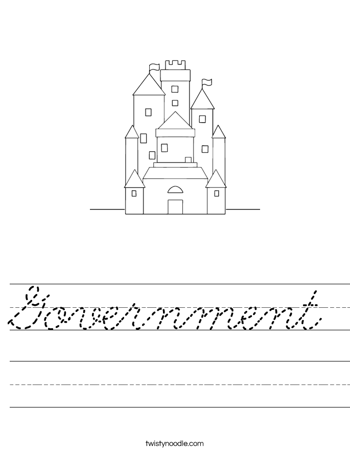 Government Worksheet