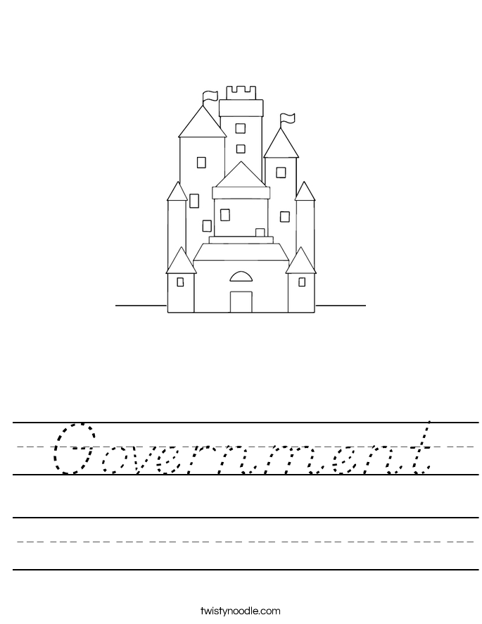 Government Worksheet