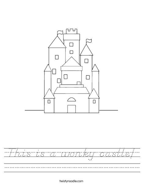 Castle Worksheet