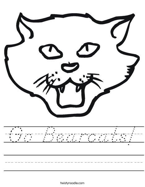 Cat Head Worksheet