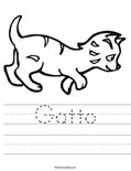 Gatto Worksheet