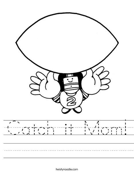 Catch Worksheet