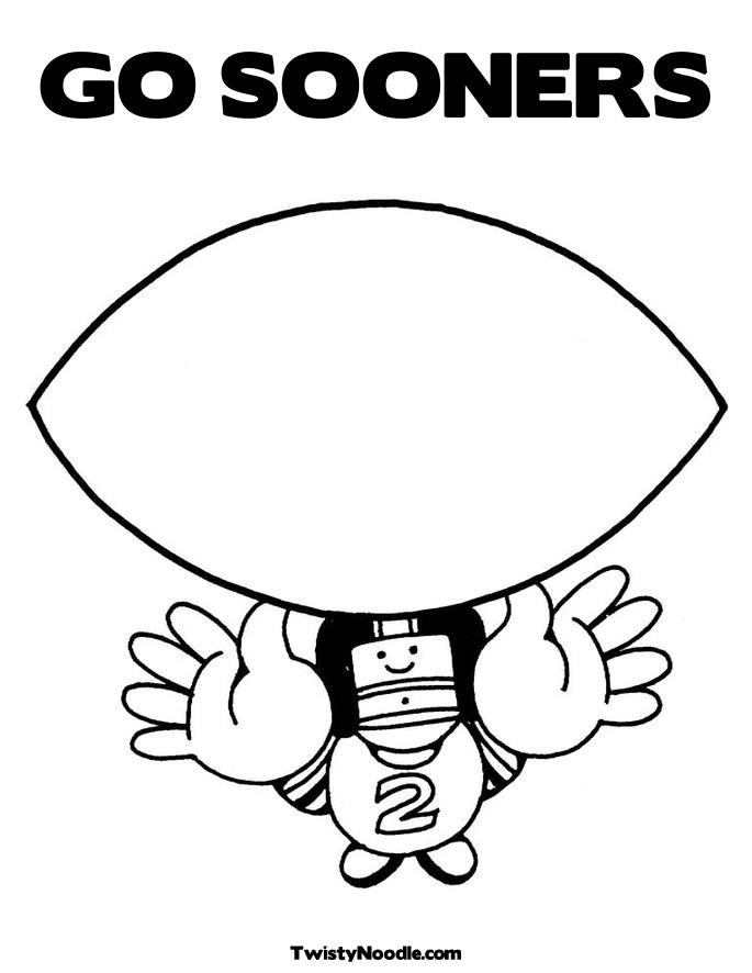 1000 images about oklahoma coloring sheets on pinterest for Ou sooners coloring pages