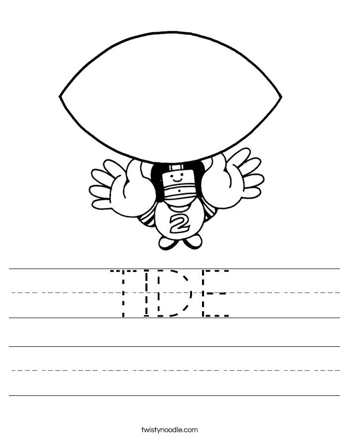 TIDE Worksheet