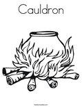 CauldronColoring Page