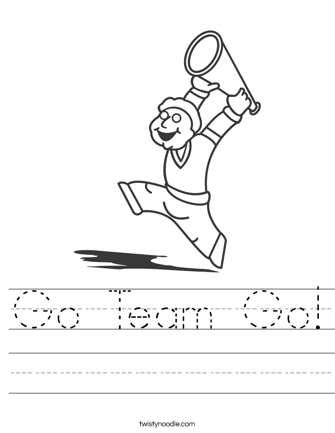 Go Team Go! Worksheet