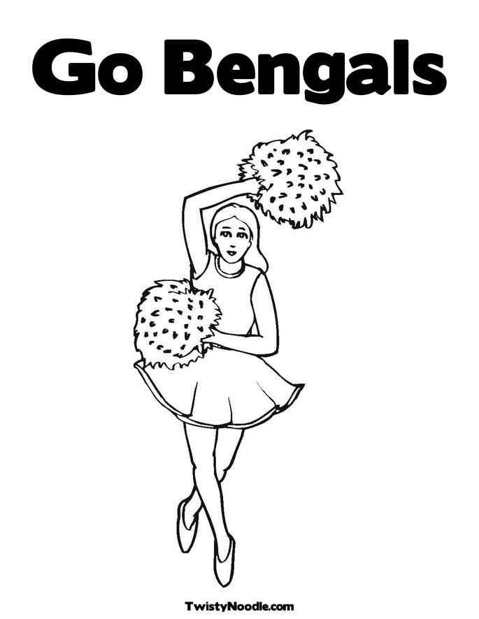 bengals logo coloring coloring pages Cincinnati Bengals Coloring Pages  Bengals Coloring Pages