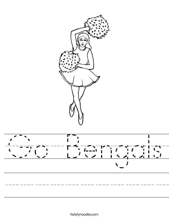 Go Bengals Worksheet