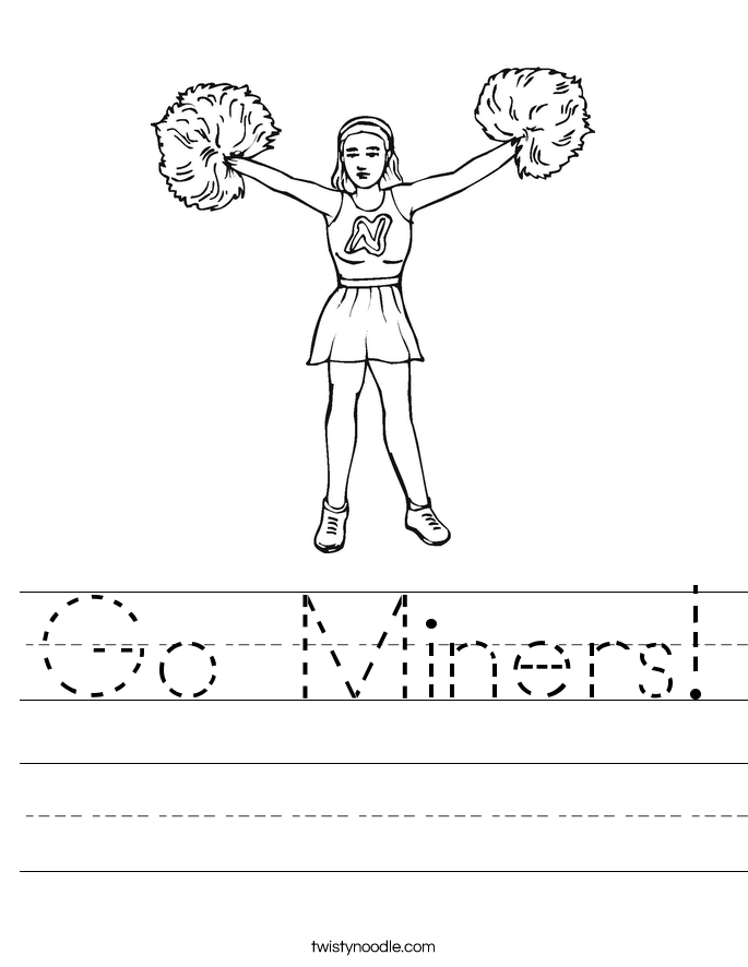 Go Miners! Worksheet