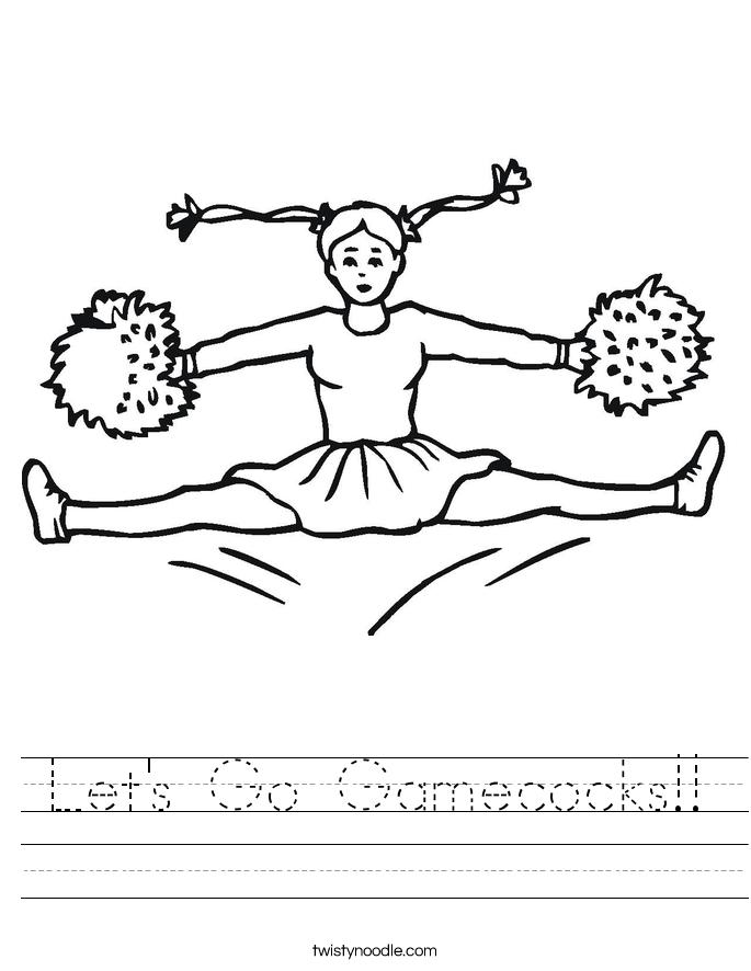 Let's Go Gamecocks!! Worksheet