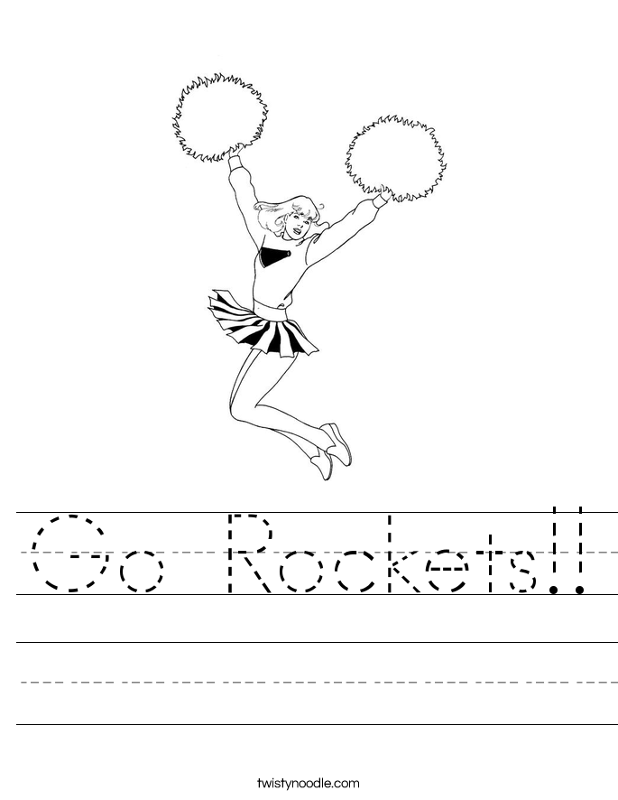 Go Rockets!! Worksheet