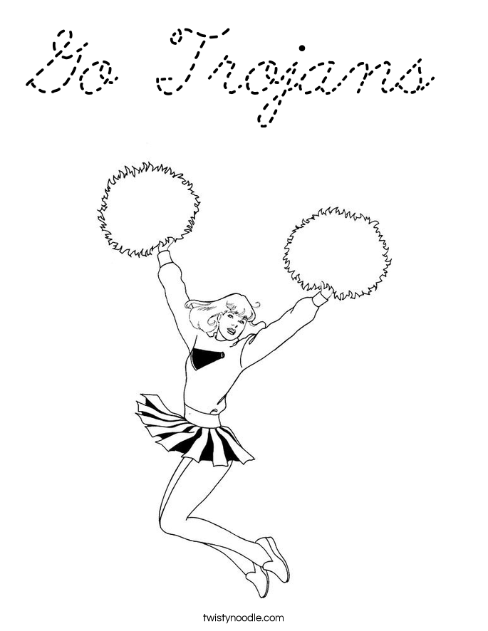 usc coloring pages - photo#18