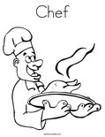 ChefColoring Page