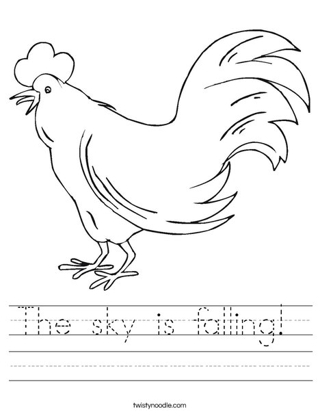 Chicken Worksheet