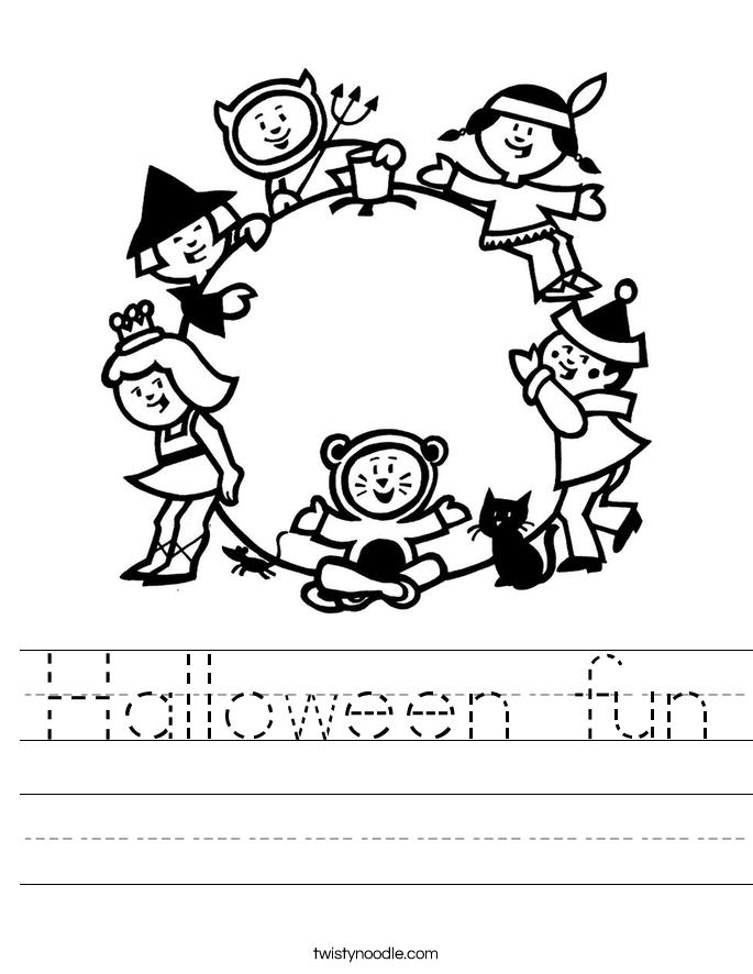 Halloween fun Worksheet