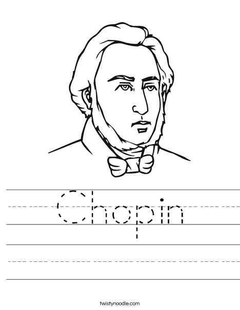 Chopin Worksheet