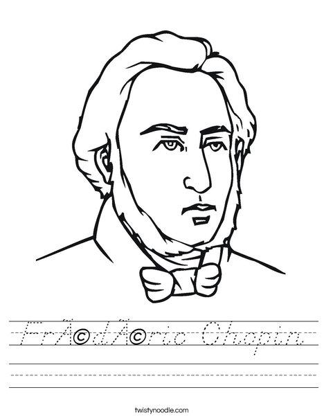 Chopin Worksheet