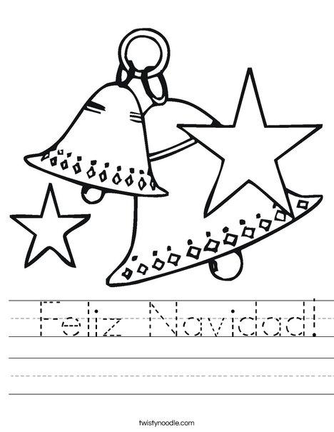 Christmas Bells Worksheet