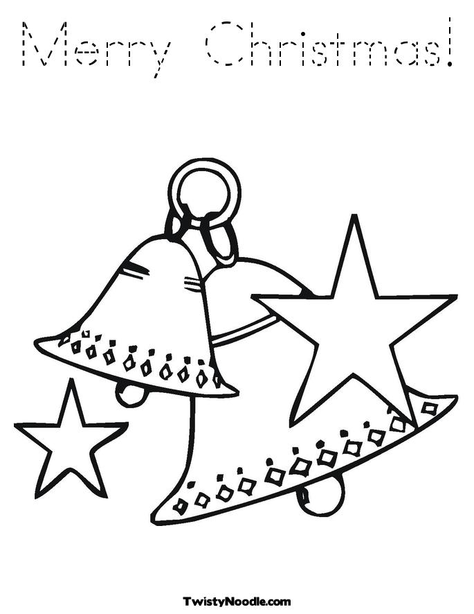 Shining Bell Coloring Page Wedding