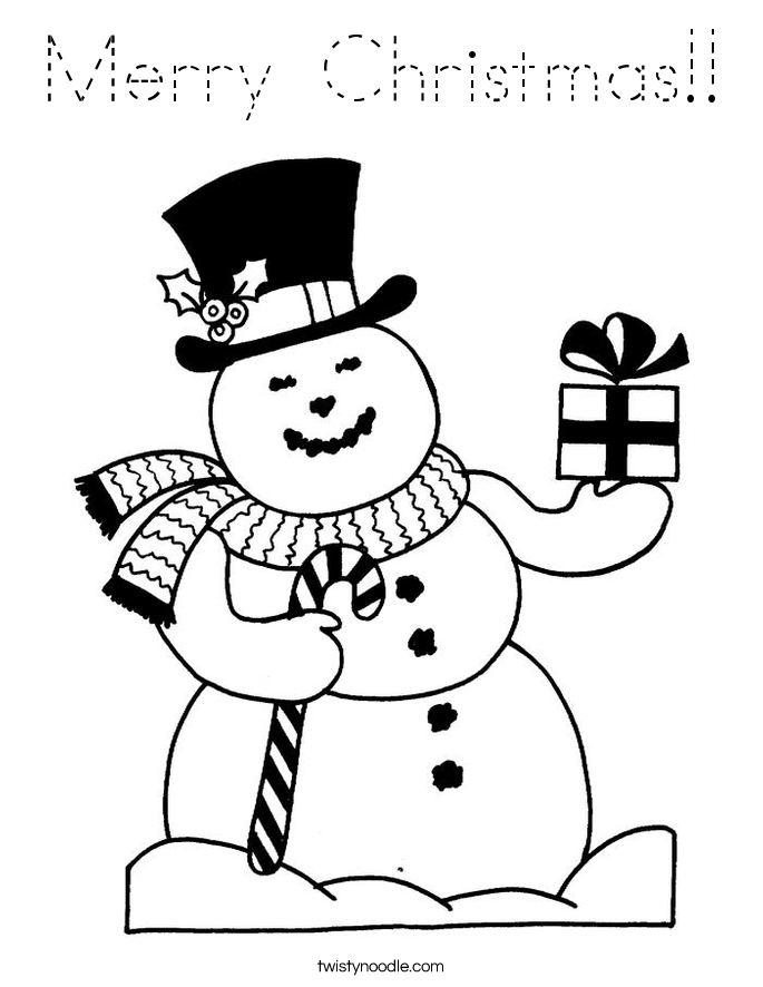 Simple Snowflake Coloring Page Coloring Pages Snowflake Merry Words Coloring Pages