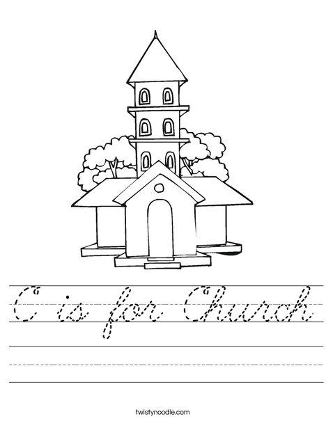 Church Worksheet