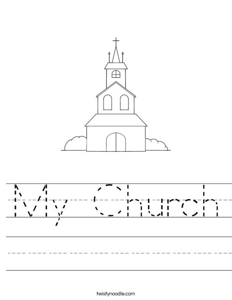 Church on a Hill Worksheet