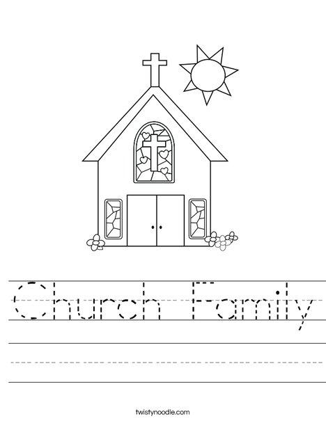 Fun Church Worksheets | Print Version (PDF) Answer Sheet (PDF ...