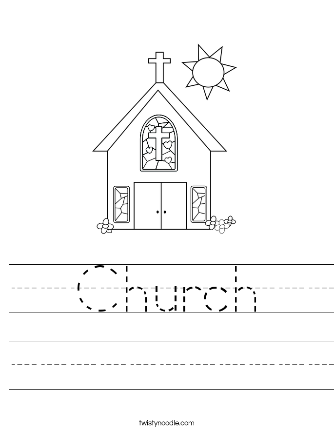 Church Worksheet