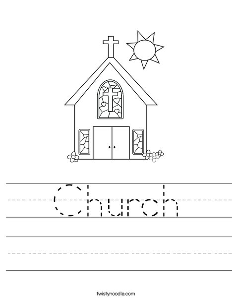 Cartoon Worksheet: The church of the future - CartoonChurch.com