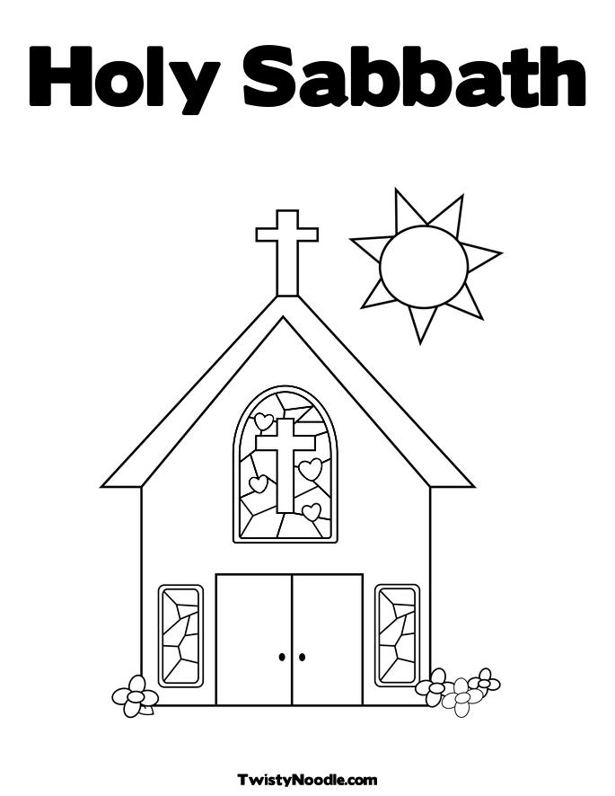 Gallery For Gt Remember The Sabbath Clipart Sabbath Coloring Pages