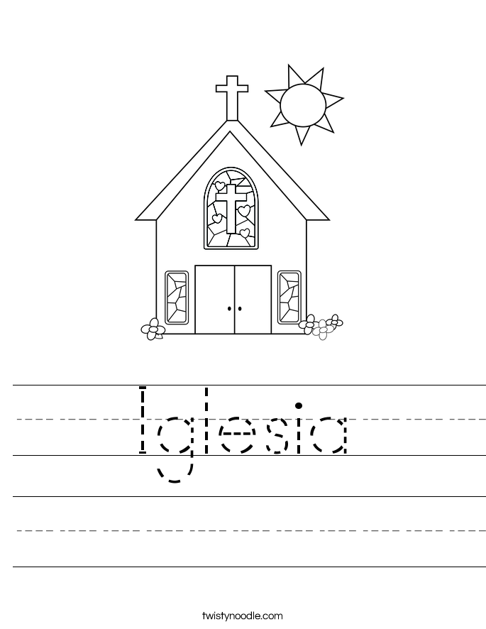 Iglesia Worksheet