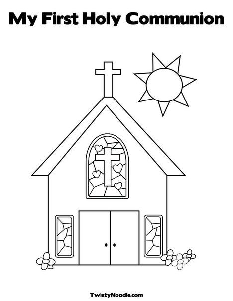 free communion coloring pages - photo#35