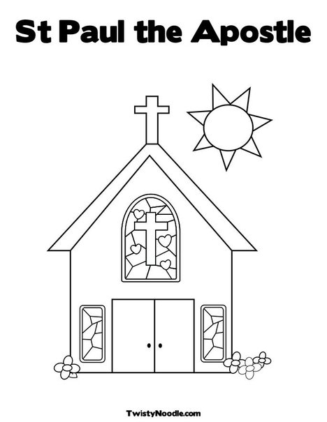 Paul S Letters Coloring Page Whatsinthebible Com More