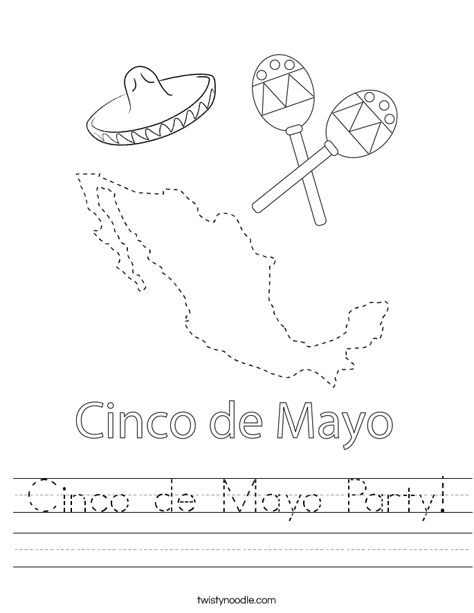 Cinco de Mayo Party! Worksheet