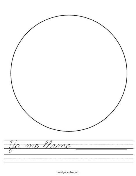 Circle 2 Worksheet
