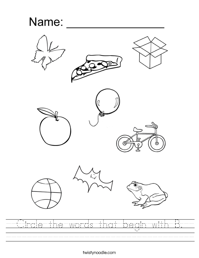 Free Worksheets Library Download And Print On. Alphabet Letter B S Stock Vector Illustration Of Kids. Preschool. Preschool Worksheets For Letter B At Clickcart.co