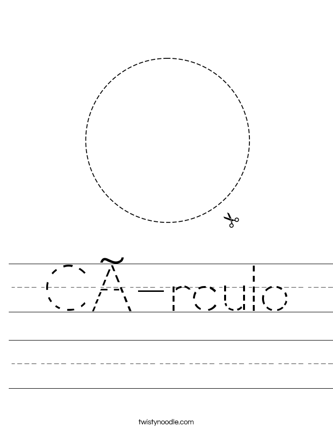 Círculo Worksheet