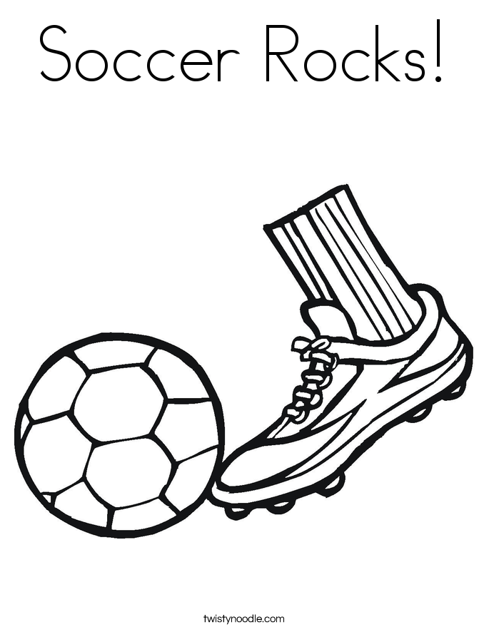 Coloring Pages Of Soccer Cleats Coloring Pages