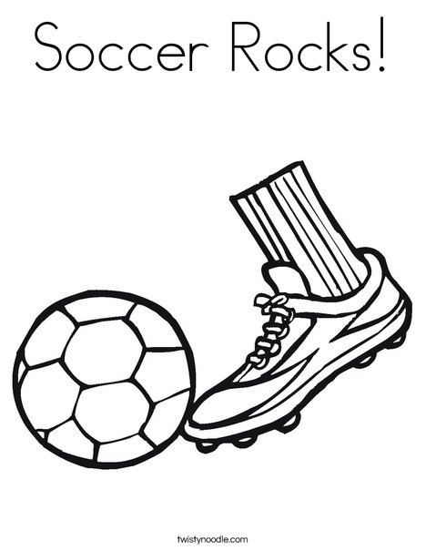 soccer rocks coloring page twisty noodle
