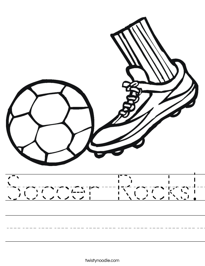 Soccer Rocks! Worksheet