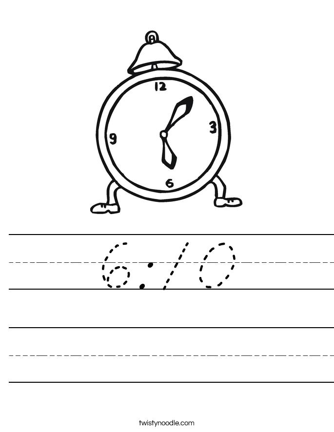 6:10 Worksheet