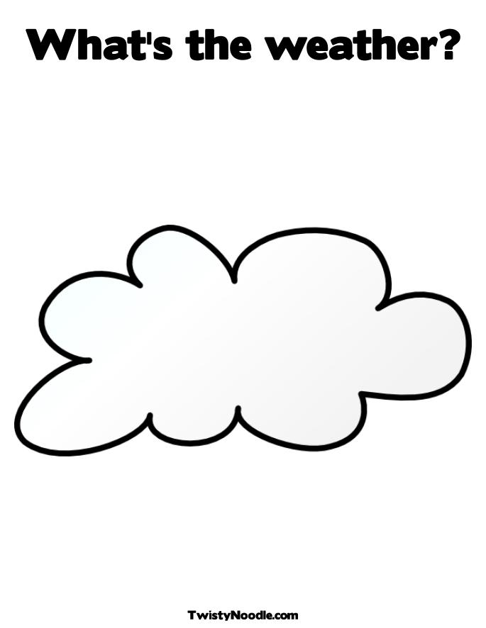 BOOK COLORING PAGE WEATHER « ONLINE COLORING