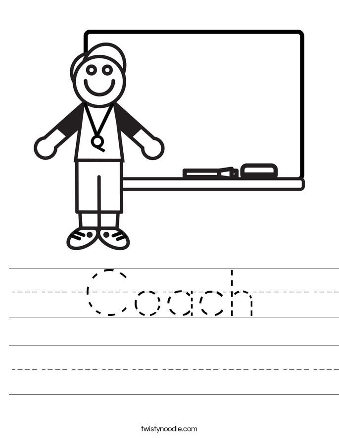 Coach Worksheet