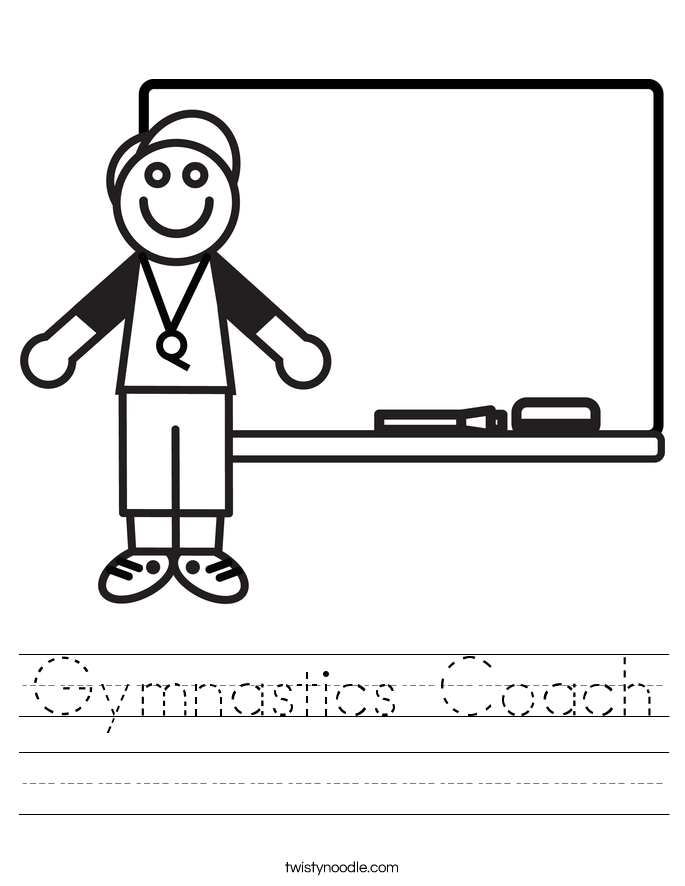 Gymnastics Coach Worksheet