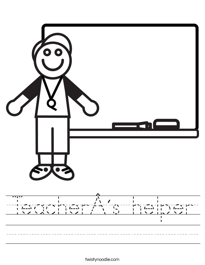 Teacher´s helper Worksheet
