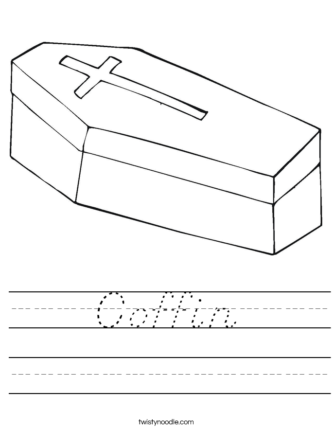Coffin Worksheet