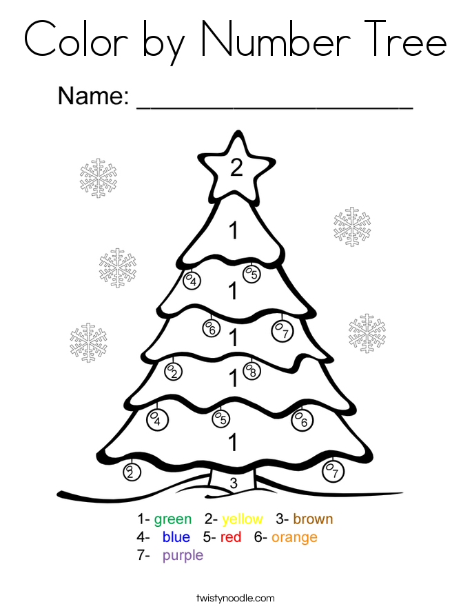 color by numbers christmas coloring pages best christmas ornament