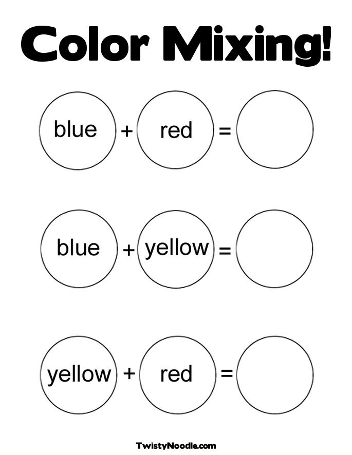 Coloring Pages, Preschool Colors, Colors Preschool, Colors Printable ...
